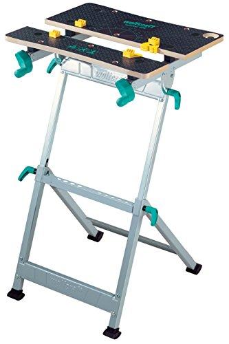 wolfcraft MASTER 600 Spann- und Arbeitstisch 6182000 - höhenverstellbar; Universell einsetzbarer und robuster Werktisch; Ideal für Heim- und Handwerker